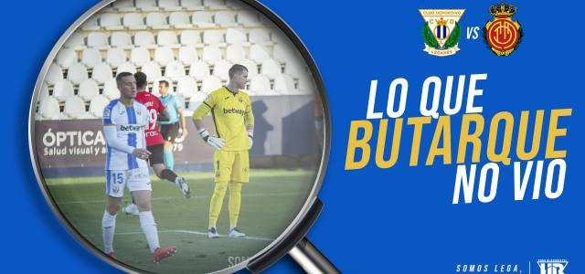 Lo que Butarque no vio en el CD Leganés 0-1 RCD Mallorca