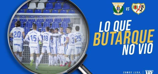 Lo que Butarque no vio en el CD Leganés 1-0 Rayo Vallecano