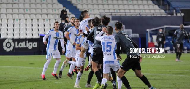 Un gol de Arnaiz mantiene al Leganés en el grupo de cabeza