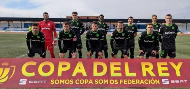 El Leganés hace los deberes en Socuéllamos y pasa a la siguiente ronda de la Copa del Rey
