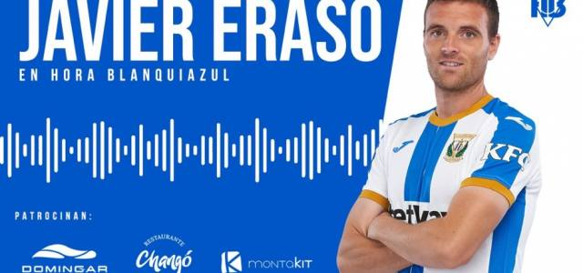 """Javier Eraso: """"Vamos a pensar en positivo, la plantilla cree en el ascenso"""""""