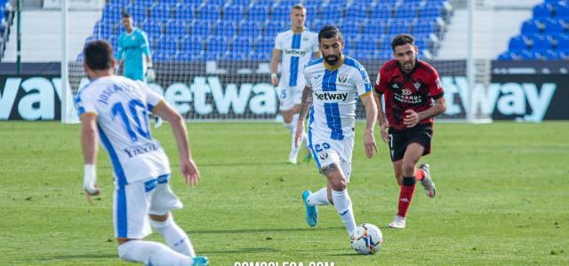 El C.D. Leganés finaliza la cesión de Michael Santos