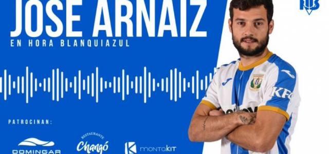 """José Arnaiz: """"Que a la afición no le quepa duda, vamos a pelear por lo máximo"""""""