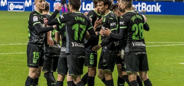La garra del Lega saca los tres puntos de Oviedo