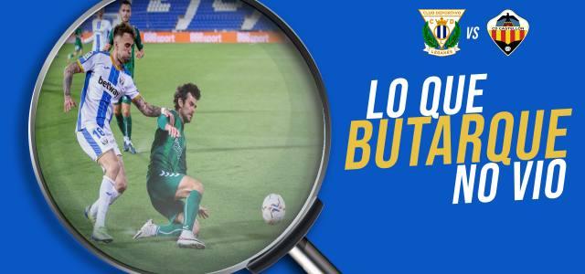 Lo que Butarque no vio en el CD Leganés 0-0 CD Castellón