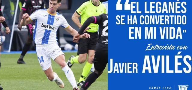 """Javier Avilés: """"El Leganés se ha convertido en mi vida"""""""