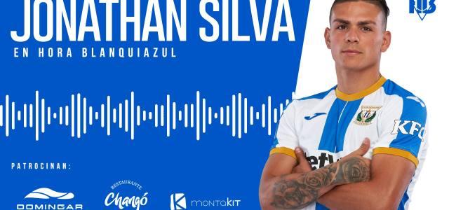 """Jonathan Silva: """"Queremos subir al Leganés a la élite, ahí es donde se merece estar"""""""