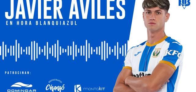 Javier Avilés: «Pienso todos los días en volver a Primera»