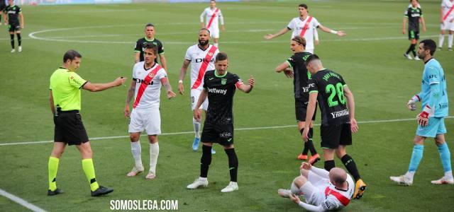 El Leganés logra un punto en Vallecas y afianza el playoff
