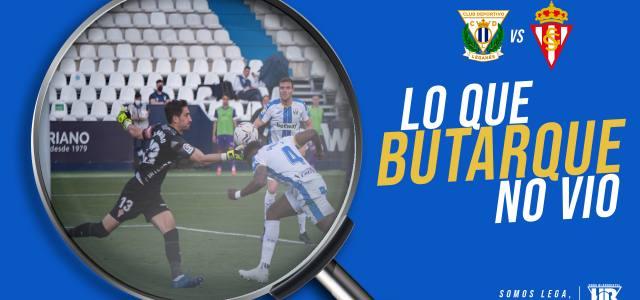Lo que Butarque no vio en el CD Leganés 0-0 Real Sporting