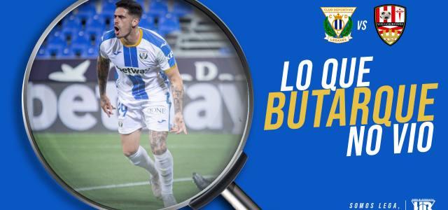 Lo que Butarque no vio en el CD Leganés 3-0 UD Logroñés