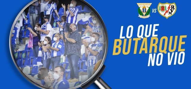 Lo que Butarque no vio en el CD Leganés 1-2 Rayo Vallecano