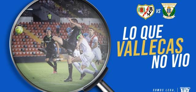 Lo que Vallecas no vio en el Rayo Vallecano 3-0 CD Leganés