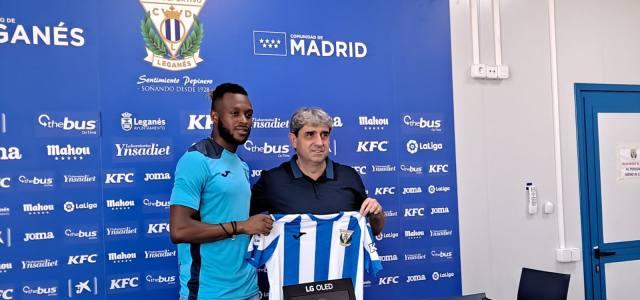 """Cheick Doukouré: """"El Leganés te puede dar muchas alegrías y estoy muy orgulloso de venir aquí"""""""