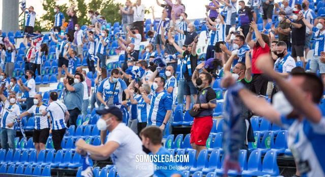 El Leganés bate su récord de abonados en Segunda División