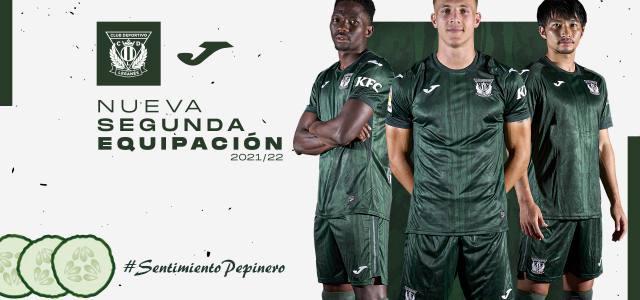"""El Leganés presenta su segunda equipación bajo el lema """"Sentimiento Pepinero"""""""