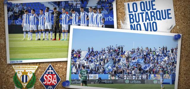 Lo que Butarque no vio en el CD Leganés 1-0 SD Amorebieta