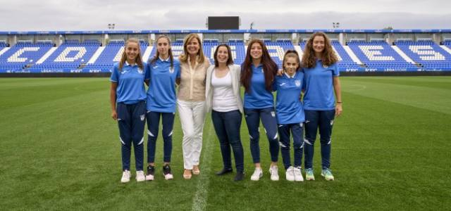 El CD Leganés presenta su sección femenina para la temporada 2021/2022