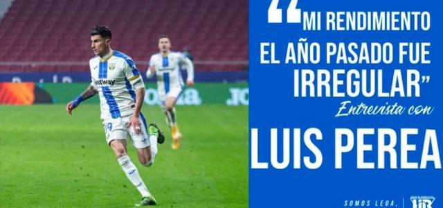 Luis Perea: «Mi rendimiento el año pasado fue irregular»