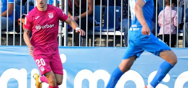 El Leganés cae derrotado con un gol en el último minuto