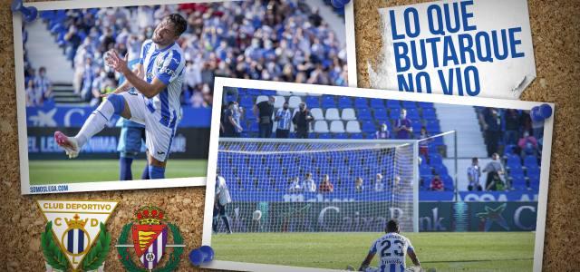 Lo que Butarque no vio en el CD Leganés 0-2 Real Valladolid